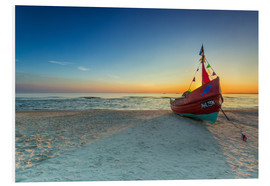 Forex  Fishing boat on the Baltic Sea Usedom beach - Dennis Stracke