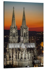 Aluminium print  cathedral of cologne - rclassen
