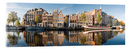 Acrylic glass  Amsterdam panorama - George Pachantouris