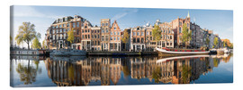Canvas print  Amsterdam panorama - George Pachantouris