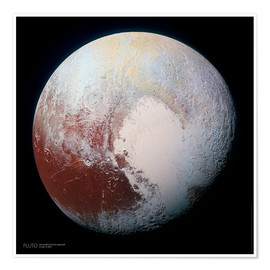 Sascha Kilmer - Pluto, seen by New Horizons spacecraft