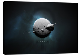 Canvas print  Solar System Ceres - Tobias Roetsch