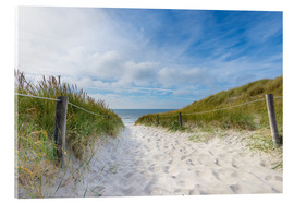 Acrylic print  The way to the North Sea - Hannes Cmarits
