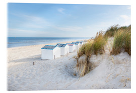 Acrylic print  North Sea beach, De Koog - Hannes Cmarits