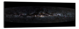 Acrylic print  Milky Way Panorama (German) - Jan Hattenbach