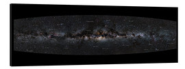 Aluminium print  Milky Way Panorama (German) - Jan Hattenbach