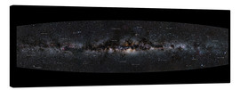 Canvas print  Milky Way Panorama (German) - Jan Hattenbach