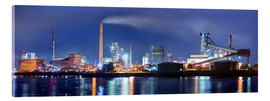 Acrylic glass  ArcelorMittal steel mill Bremen - Tanja Arnold Photography