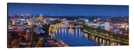 Aluminium print  Bremen at the blue hour - Tanja Arnold Photography