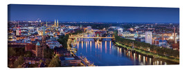 Canvas print  Bremen at the blue hour - Tanja Arnold Photography