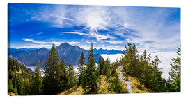 Canvas print  Mountain Trail - Michael Helmer