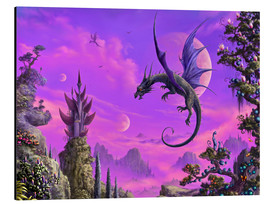 Alu-Dibond  The Dragon Kingdom - Susann H.