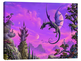 Canvas print  The Dragon Kingdom - Susann H.