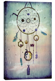 Canvas  Dream  Catcher - Sybille Sterk
