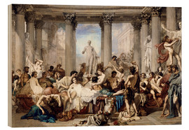 Wood  Roman decadence - Thomas Couture