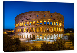 Jan Christopher Becke - Colosseum in Rome at night