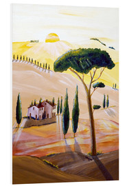 Forex  Tuscany in the morning - Christine Huwer