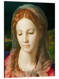 Aluminium print  The Virgin - Agnolo Bronzino