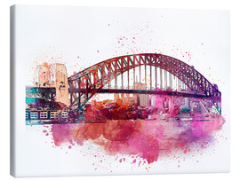 Canvas print  Sydney Harbor Bridge - Andrea Haase