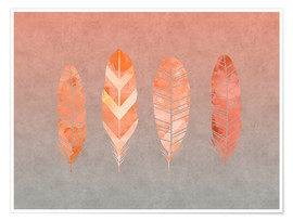 Premium poster  Feathers - Andrea Haase