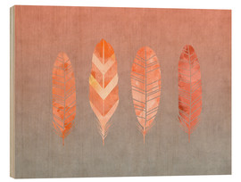 Wood  Feathers - Andrea Haase