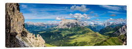 Canvas  The Dolomites in South Tyrol, panoramic view - Sascha Kilmer