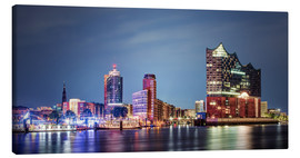 Canvas print  Philharmonic Hall, Elbe - Tanja Arnold Photography