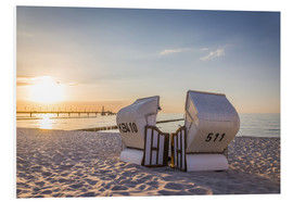 Forex  Idyllic beach chairs at the Baltic Sea - Christian Müringer