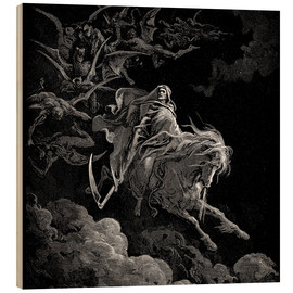 Wood  Death on a Pale Horse - Gustave Doré
