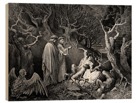 Wood  The Inferno, Canto 13 - Gustave Doré