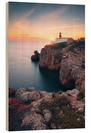 Wood  At the end of the world (Cabo de São Vicente / Algarve / Portugal) - Dirk Wiemer