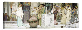 Canvas print  The vintage festival - Lawrence Alma-Tadema