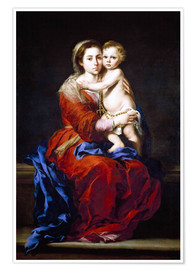Premium poster The Madonna of the Rosary