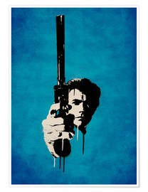 Premium poster Clint Eastwood - Dirty Harry