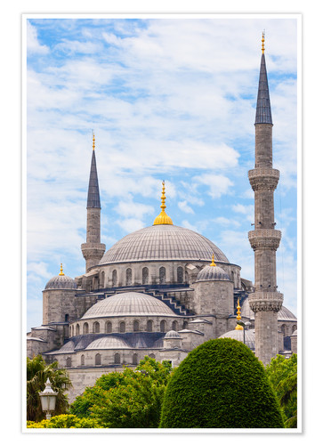 Poster Blue Mosque Istanbul