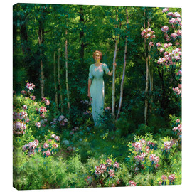 Canvas print  The Edge of the Woods - Charles Courtney Curran