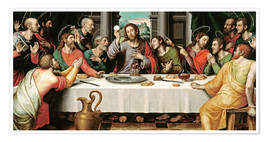 Premium poster The last supper