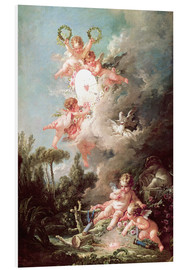 Foam board print  Angel - François Boucher