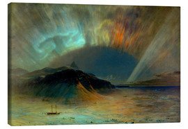 Canvas print  Northern lights - Frederic Edwin Church