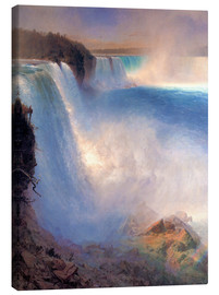 Canvas print  Niagara Falls - Frederic Edwin Church