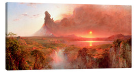Canvas print  Cotopaxi - Frederic Edwin Church
