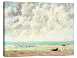 Canvas print  Calm lake - Gustave Courbet