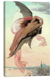 Canvas print  Moonlit dreams - Gabriel-Joseph-Marie-Augustin Ferrier