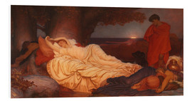 Foam board print  Cymon and Iphigenia - Frederic Leighton