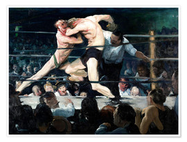 Poster  Stag at Sharkey's - George Wesley Bellows
