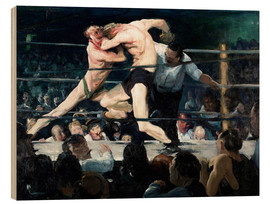 Wood  Stag at Sharkey's - George Wesley Bellows