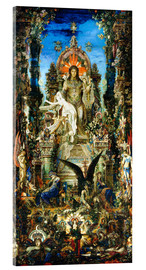 Acrylic glass  Jupiter and Semele - Gustave Moreau