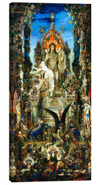 Canvas  Jupiter and Semele - Gustave Moreau