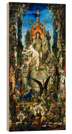 Wood print  Jupiter and Semele - Gustave Moreau