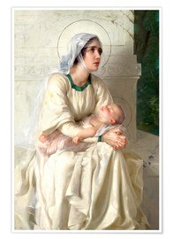 Premium poster Madonna with Child
